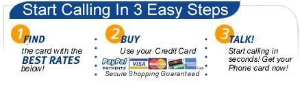 Buy prepaid phone cards and international calling cards online!